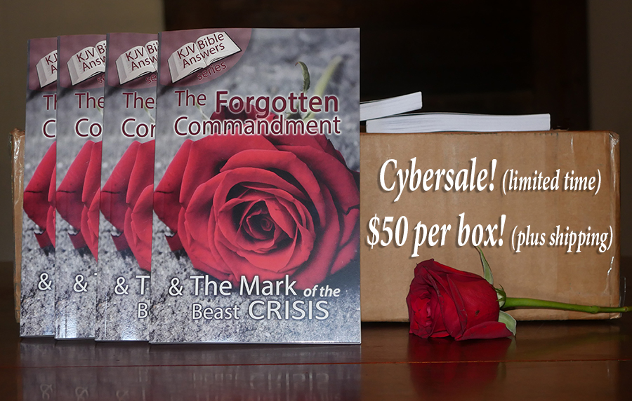 Forgotten Commandment & The Mark of the Beast Crisis [44 books per Box]